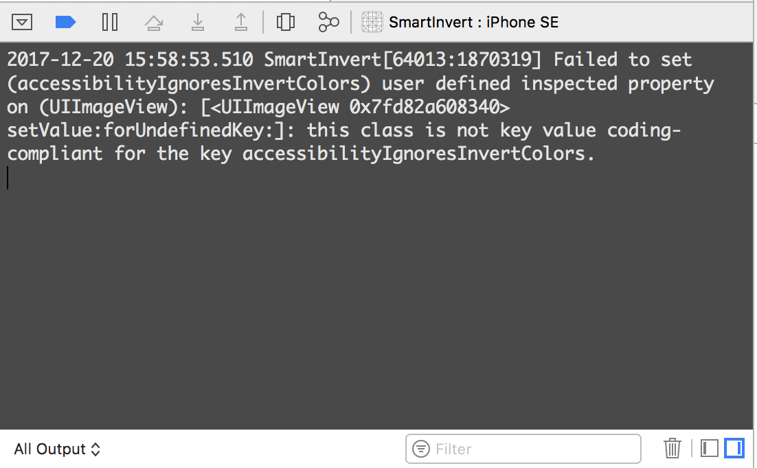 Xcode complains about runtime attribute on older iOS